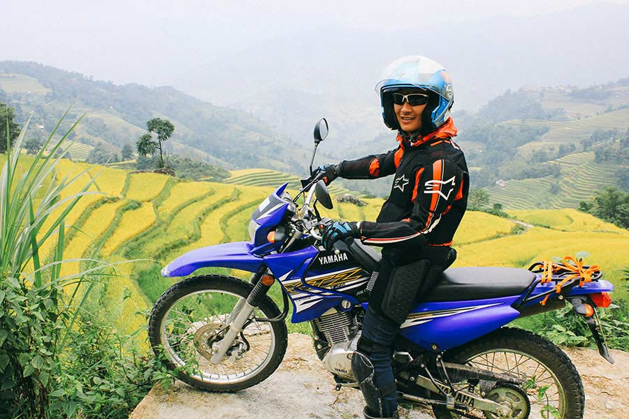 qt motorbike rental tours ha giang cao bang road 6