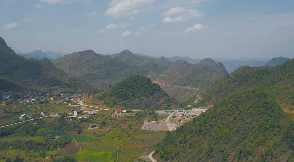 Lung Cu, one of the stops of my 3 day ha giang loop tour