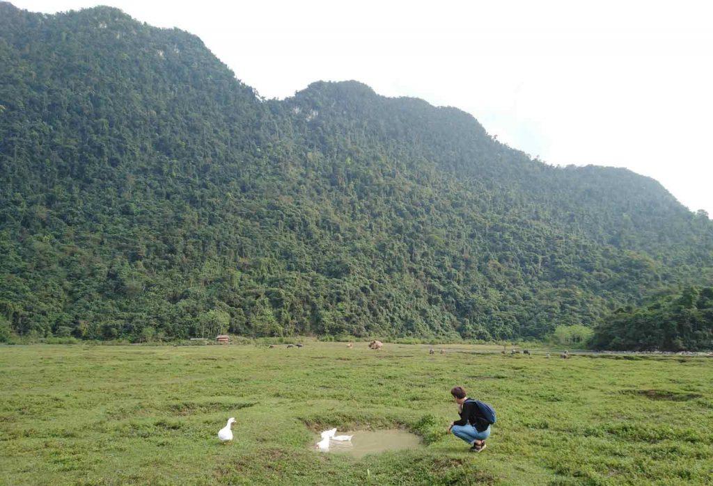 ha giang noong lake vietnam