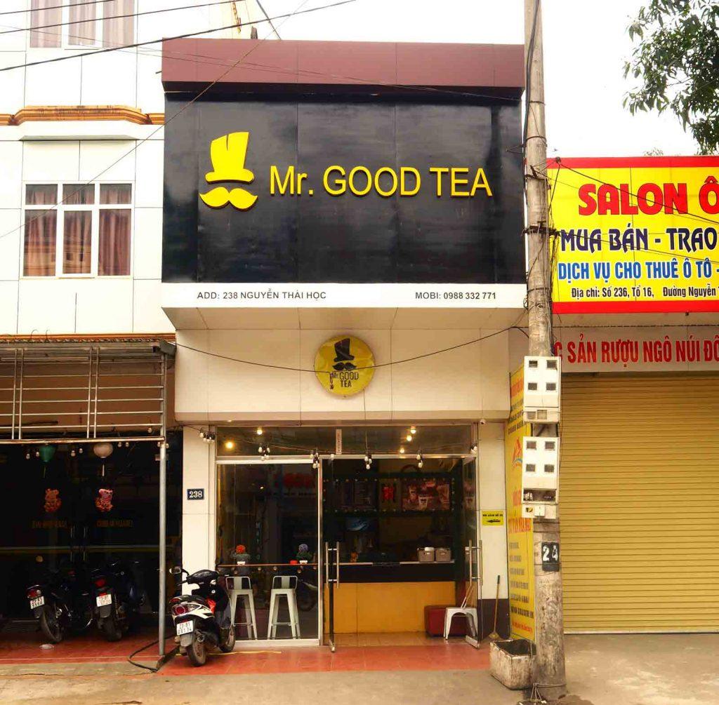 tea in vietnam - stores