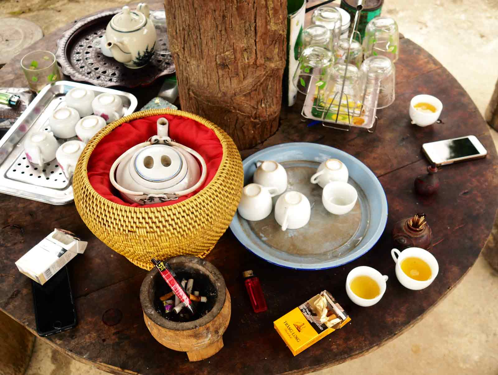 tea in vietnam