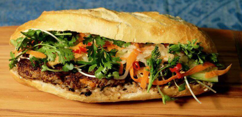 guide vegetarians ha giang bahn mi