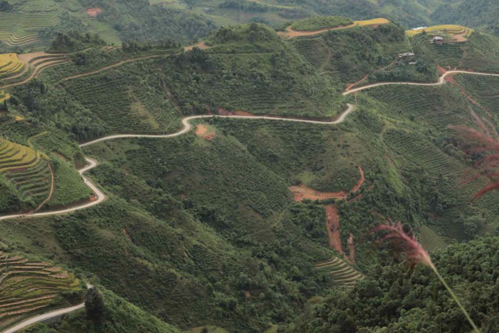 Can I Do The Ha Giang Loop With An Automatic Bike? Challenging roads